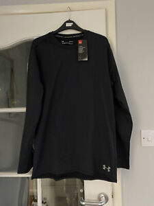 Mens Under Armour ColdGear Fitted Crew Long Sleeve BNWT RRP:£35+