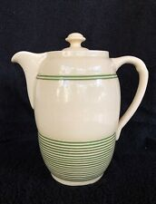 Vintage TG Green streamline Coffee Pot