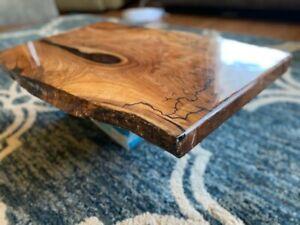 Live edge epoxy table