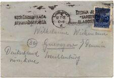 Briefmarken Brief 1948 Jugoslawien  5  gestempelt !!!!!!!!!!!!!!!!!!!!!!!!!!!!