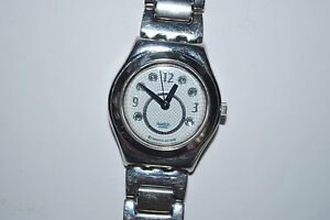 Swatch Irony Watch YSS223G GROUND SHIMMER 2007 Ladies Swiss Quartz Stainless St