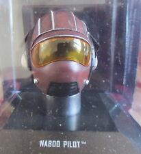 STAR WARS  1/5  CASQUE CASCO HELMET NABOO PILOT