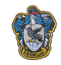 HARRY POTTER RAVENCLAW CREST EMBROIDERED IRON SEW ON SCHOOL BADGE PATCH