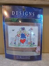 NEW in Package Designed for the Needle Cross Stitch kit 5x7 Garden Gate #5121