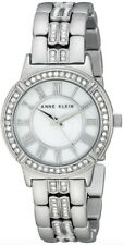 Anne Klein Watch * 2019MPSV MOP Crystals Silver Steel for Women COD PayPal