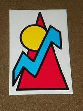 Mountain Climbing Sticker DECAL Sun Lightning Circle Triangle Arrow