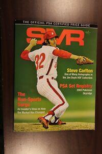 PSA SMR Sports Market Report Jan 2019 Steve Carlton #294 Phillies