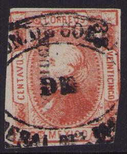 cx43 Mexico #95 25ctv Pachuca 33-72 / Mineral del MONTE Sz 1133 5pts Est $5-10