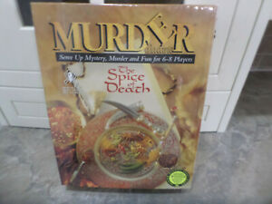 """Murder Alacarte """"The Spice of Death"""" by Paul Lamond Brand New and Factory Sealed"""