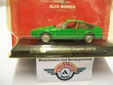 Alfa Romeo Junior Zagato 1600, green, 1972, RCS 1:43, OVP