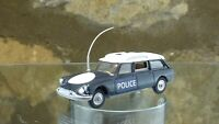 CLASSIC VINTAGE CORGI No 436 CITROEN SAFARI 'POLICE' in Blue and White.