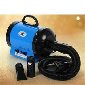 Dog Pet Grooming Dryer Hair Dryer Removable Pet Hairdryer 3 Nozzle 2200W 220V