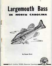 Largemouth Bass in North Carolina booklet by Duane Rover, 1953