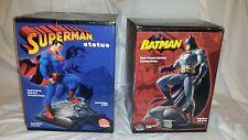 Superman Batman Statue Set designed by Jim Lee Rare !