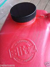 New Gas Can BLACK PLASTIC CAP Blitz Rubbemaid Replacement Fuel Diesel Gallon Jug