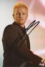 WESTLIFE: NICKY BYRNE SIGNED 6x4 LIVE PHOTO+COA *FLYING WITHOUT WINGS*