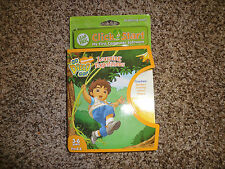 New Leap Frog Click Start Go Diego Go! Learning Expeditions 3-6 Yr. Pre-K-K