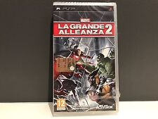 Marvel La Grande Alleanza 2 (PSP Play Station Portable) - Italian Edition Sealed