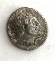 EGYPTIAN PTOLOMY SILVER TETRADRACHM 204-180 BC- SEE OTHER COINS, JEWELRY