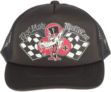 Hot Rod Hellcat red Baron Black Trucker Cap rockabilly