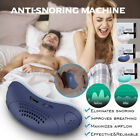 Electric Anti Snoring Electronic Device Sleep Apnea Stop Snore Aid Stopper HH photo