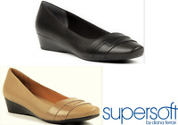 Supersoft Shoes by Diana Ferrari wedge slip on Shoes leather - Renzo