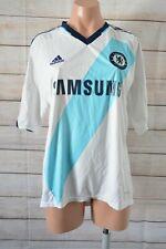 Adidas Chelsea Football Club Jersey Size Medium Blue White Climacool