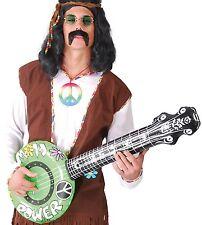 Gonfiabile BANJO CHITARRA Hippy Anni 60 SESSANTA Vestito da Festa Scena