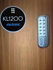 Codelocks KL1200-SG Kitlock HD -Style Keyless  electronic Locker,Cabinet by L&F