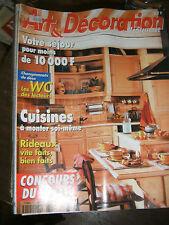 Art et Décoration N° 347 Cuisines à monter Rideaux Les juke box 45 tours disque