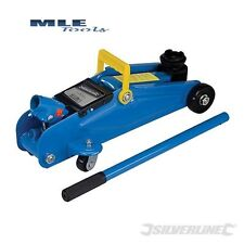 #633935 Silverline Hydraulic Trolley Jack 2 Tonne automotive motorsport workshop