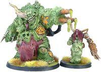 Warhammer  40K Death Guard Forge World Nurgle Daemon Prince and Herald