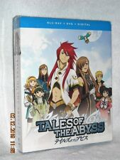 Tales of the Abyss (Blu-ray/DVD, 2018, 7-Disc) anime fate is written in stones