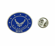 U.S. Air Force WIFE USAF United States USA Military Lapel Pin