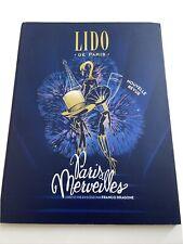 Programme Lido De Paris Revue Paris Merveille
