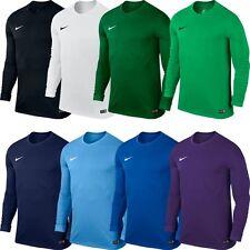 Nike Mens Park VI Long Sleeve Jersey Dri Fit Football Shirts Kits Top Sports