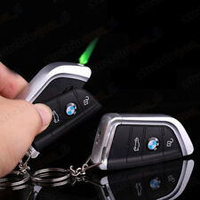 Car Key Windproof Lighter Jet Torch Gas Butane Cigarette Lighter For BMW GIFT