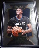 2014-15 Panini Select #100 Andrew Wiggins Timberwolves Basketball Rookie Card