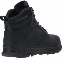 "Wolverine Men's Shiftplus Work Lx 6"" Soft Toe Boot Industrial, Black, Size 10.5"