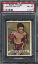 1951 Topps Ringside #37 Eugene Hairston PSA 8 NM-MT Cert #19536573