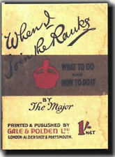When I joined the Ranks - Replica WW1 Information Leaflet