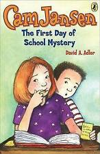 Cam Jansen: The First Day of School Mystery #22-ExLibrary