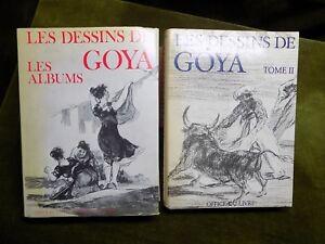 LES DESSINS DE GOYA Vol. 1&2 Pierre Gassier