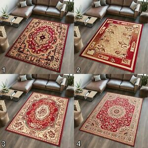 TAPISO NEW RED AREA RUGS TRADITIONAL SMALL MEDIUM EXTRA LARGE RUG FLORAL PATTERN