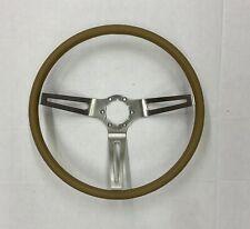 Comfort Grip Steering Wheel Kit Brown Cushion 3 Spoke Camaro Chevelle Nova Elcam