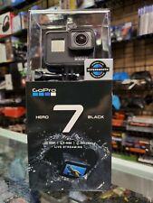 GoPro HERO7 Black 12 MP Waterproof 4K Camera Camcorder NEW