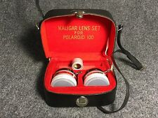 KALIGAR WIDE ANGLE AND TELEPHOTO LENS FOR POLAROID 100
