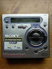 Sony Walkman MD MZ-R700PC Recording Mini Disc Player - Unit only