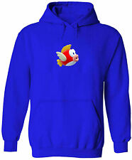 Unisex Pullover Hoodie Sweater Mens Women Print Flying Fish Cheep Cheep Cartoon