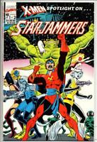 X-MEN SpotLight on STAR JAMMERS #1, NM, Marvel, 1990